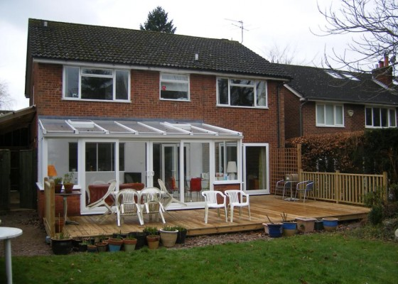 Conservatory 39 s garden rooms other projects g s walker for Upvc garden room