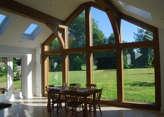 Glass Amp Oak Extension 2010 Featured Projects G S Walker