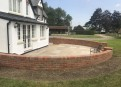 Feature patio walling