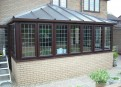 UPVC to a modern house with new matching brickwork
