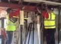 Internal steel beam fitting