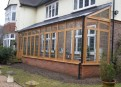Orangery in oak & glass
