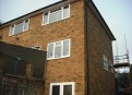 Three storey extension in London stock bricks