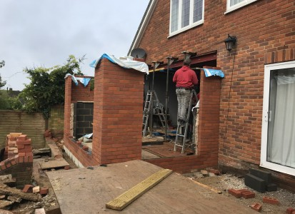 Rear extension Wheathamstead