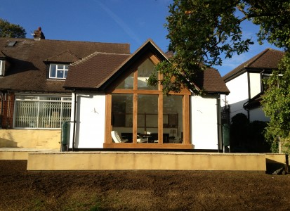 Large extension Hadley Wood