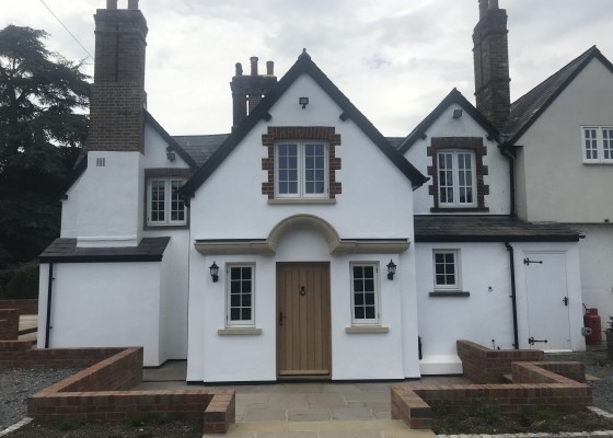 Extension to listed building