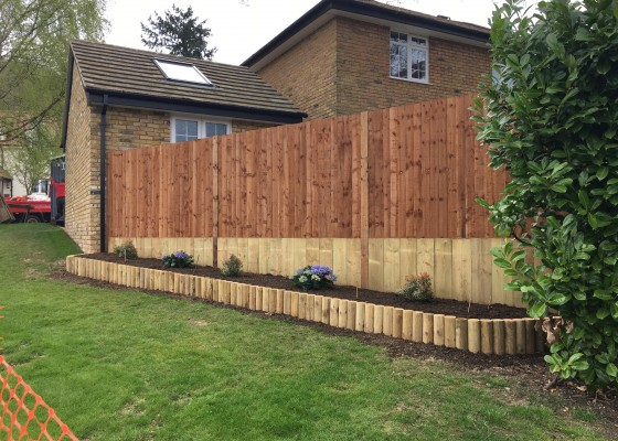 New fencing & planters