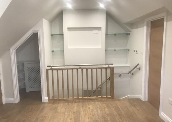 Refurbished house & flat conversion