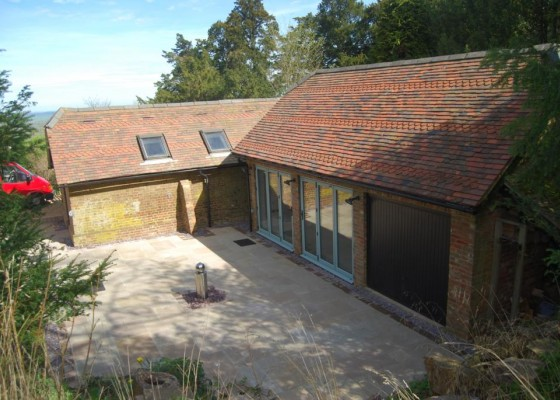 Listed outbuilding renovation